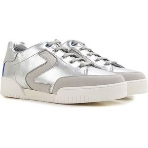 Stella McCartney Silver Eco Leather Sneakers